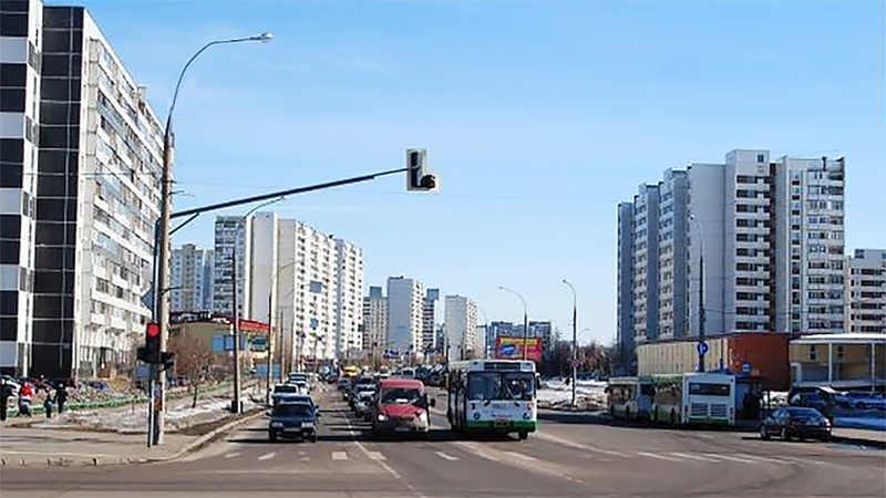 Зеленоград 14 микрорайон: прогулка по улице Логвиненко