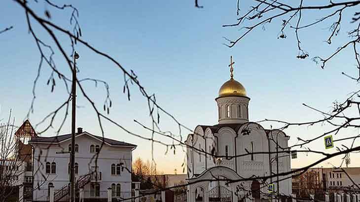Храм Александра Невского. Зеленоград