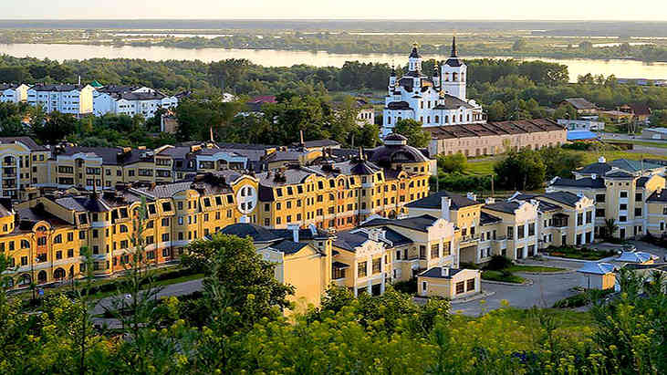 Тобольск: достопримечательности,15 фотографий нижней  части города