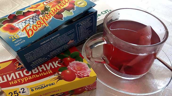 чай с боярышником