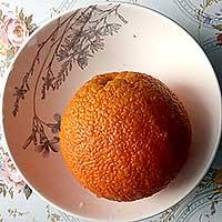 вымытый апельсин