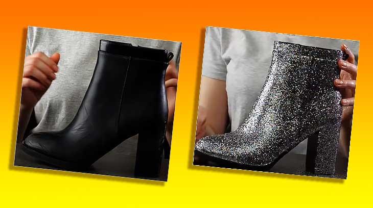 Как в домашних условиях восстановить изношенную обувь