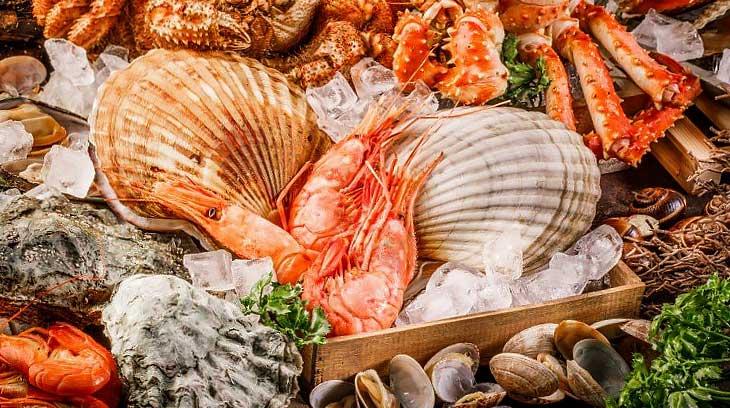 продукты из морей
