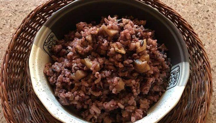 Как приготовить микс из баклажан и дикого риса. Рецепт пошагово с фото