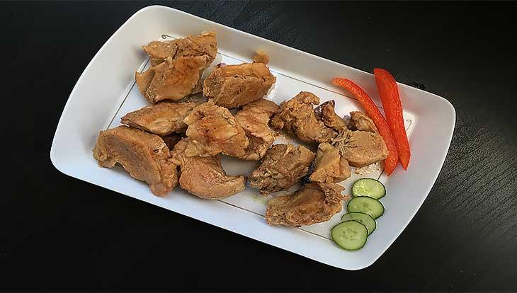 Свинина с томатно-бальзамическим соусом и розмарином, пошаговый рецепт