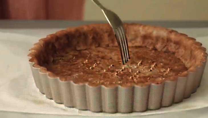 выпечка основы пирога