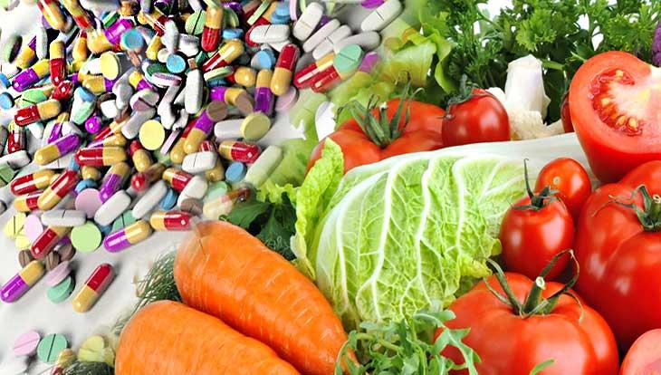Какие продукты заменят аптечные витамины, это надо знать