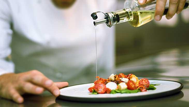 в салат растительное масло