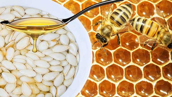 Тыквенные семечки с медом, полезные свойства, рецепты