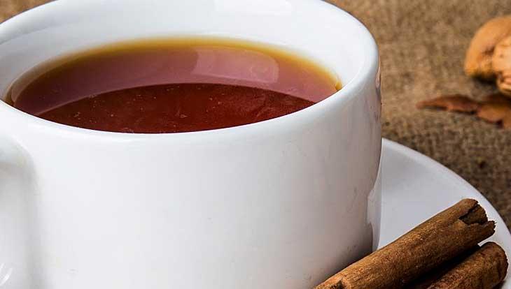 чай с корицей - помощник при лечении