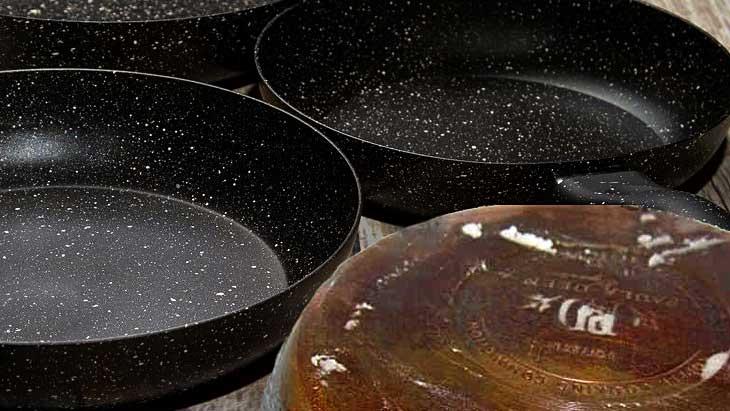 Как и чем отмыть сковороду от нагара, методы, народные советы, правила чистки