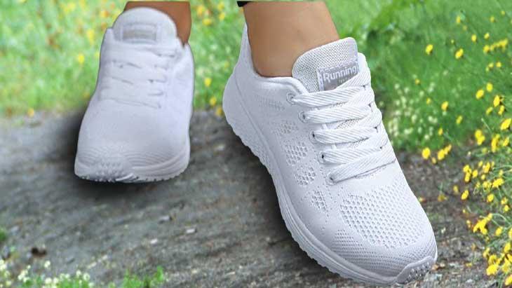 отбелить кроссовки