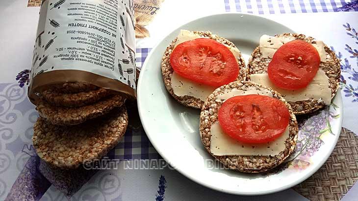 Гречневые хлебцы из Кубани, отзыв покупателя