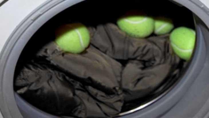 стирка пуховика с теннисными шариками рекомендуется народом