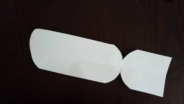выкройка задней части носка