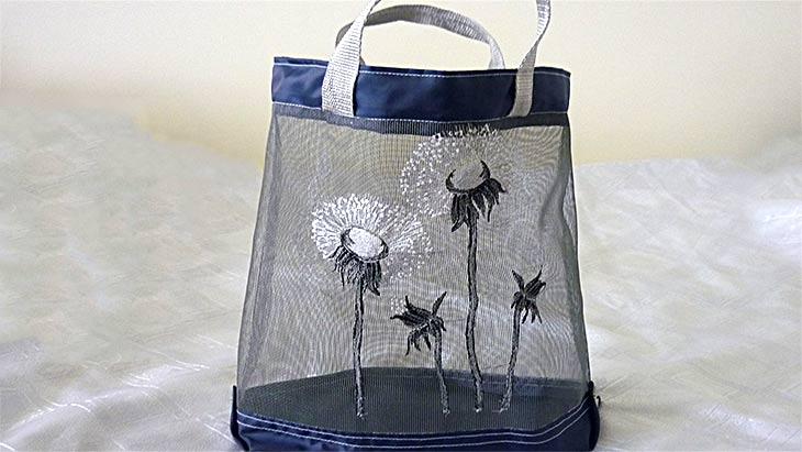 Как использовать москитную сетку не по назначению: предлагаю сшить сумку